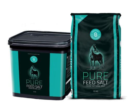 Pure feed salt